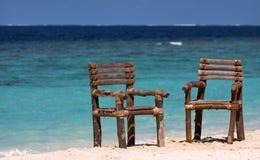 Twee plaatsen in paradijs stock fotografie