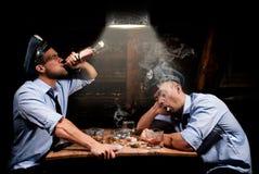 De drinker van de politieagent Royalty-vrije Stock Foto