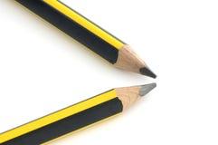 Twee potloden Stock Afbeeldingen