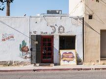 Twee restaurantbuitenkanten in Oude Stad Tucson, Arizona Royalty-vrije Stock Foto's
