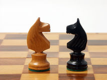 Twee ridders Royalty-vrije Stock Foto's