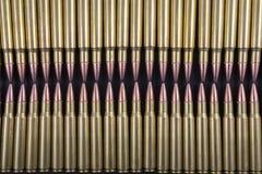 Twee Rijen van Geweerrondes Royalty-vrije Stock Afbeelding