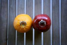 Twee ringen Royalty-vrije Stock Foto's