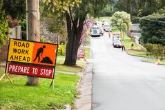 Twee ruiters op de paarden Victoria, Australië Stock Foto's