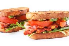 Twee sandwiches BLT Stock Fotografie