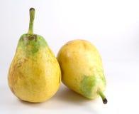 Twee sappige peren Stock Foto