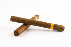 Twee Sigaren Royalty-vrije Stock Foto