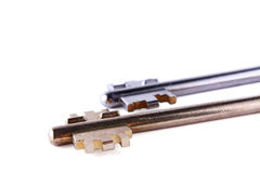 Twee sleutels Royalty-vrije Stock Fotografie