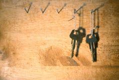 Twee sleutels Stock Foto's
