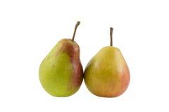 Twee smakelijke peren Stock Foto