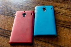 Twee Smartphones Stock Fotografie