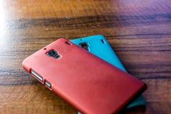 Twee Smartphones Royalty-vrije Stock Afbeelding