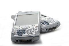 Twee Smartphones Royalty-vrije Stock Foto's