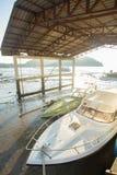 Twee - snelheidsboot Royalty-vrije Stock Afbeeldingen