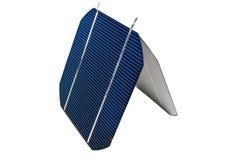 Twee solarcells Royalty-vrije Stock Foto