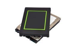Twee SSD Royalty-vrije Stock Afbeeldingen