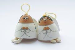 Twee engelen Royalty-vrije Stock Foto's