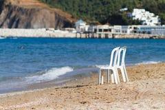 Twee stoelen Stock Afbeelding