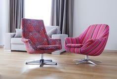Twee stoelen Royalty-vrije Stock Afbeelding