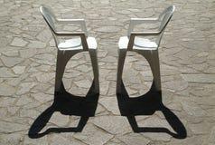 Twee stoelen Stock Afbeeldingen