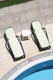 Twee stoombootstoel Stock Foto's