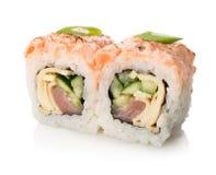 Twee sushi Royalty-vrije Stock Foto