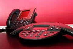 Twee Telefoons Royalty-vrije Stock Foto