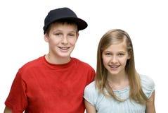 Twee Tienerjaren Royalty-vrije Stock Foto's