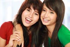 Twee tieners Royalty-vrije Stock Afbeeldingen