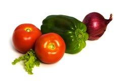 Twee tomaten Stock Afbeelding