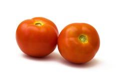 Twee tomaten royalty-vrije stock foto
