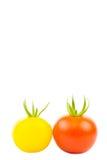 Twee Tomaten Royalty-vrije Stock Afbeelding