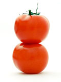 Twee tomaten Stock Fotografie