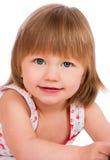Twee van het oude babyjaar meisje Stock Foto's