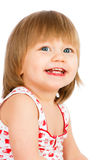 Twee van het oude babyjaar meisje Royalty-vrije Stock Foto