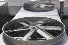 Twee ventilators Royalty-vrije Stock Afbeelding