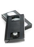 Twee video de filmcassettes van het huissysteem Royalty-vrije Stock Afbeelding