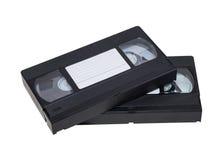 Twee video's Stock Afbeelding