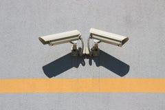 Twee videocameras Royalty-vrije Stock Afbeeldingen