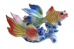 Twee vissen Royalty-vrije Stock Afbeeldingen