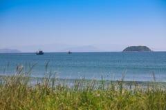 Twee vissersboten Stock Afbeelding