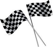 Twee vlaggen Royalty-vrije Stock Afbeeldingen