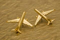 Twee Vliegtuigen Royalty-vrije Stock Foto's