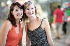 Twee vrienden Royalty-vrije Stock Fotografie