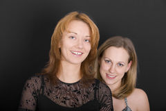 Twee Vrienden royalty-vrije stock foto's
