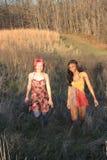 Twee Vrouwen van de Manier Stock Fotografie