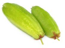 Twee vruchten Bilimbi royalty-vrije stock fotografie