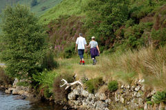 Twee Wandelaars. Royalty-vrije Stock Foto's