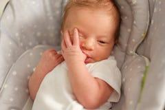 Twee Weken Oude Pasgeboren Baby Royalty-vrije Stock Afbeeldingen