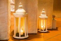 Twee lantaarns Royalty-vrije Stock Foto